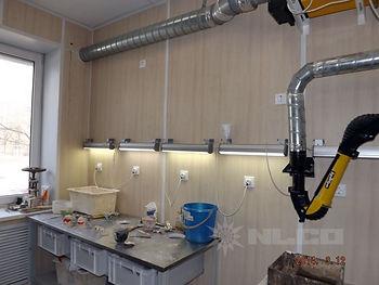 Светодиодный светильник для цеха