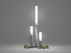 Садово-парковый светодиодный светильник