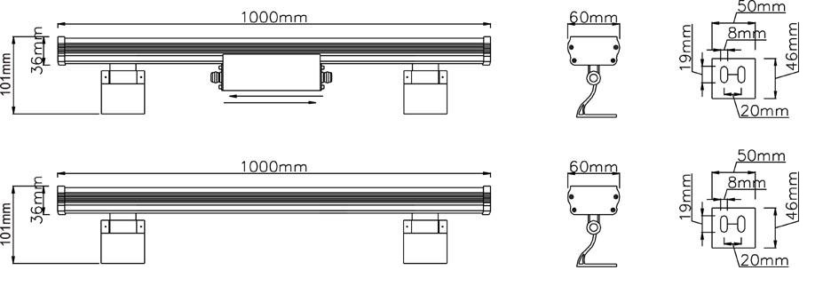 Чертёж ArchLine-1 36W