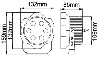 Чертёж PS-ArchSpot-5 9W
