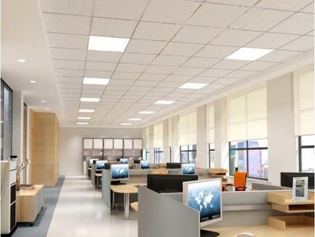 Как сделать расчёт освещения для помещения высотой 2,8-3м?