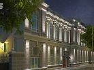 Архитектурные светильники, фасадное освещение