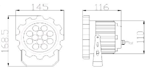 Чертёж PS-ArchSpot-5 15W