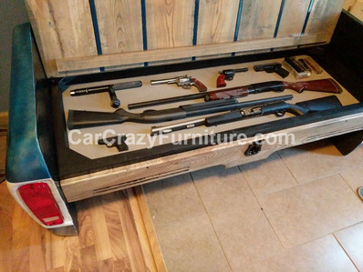 Ford Bench with Gun Storage