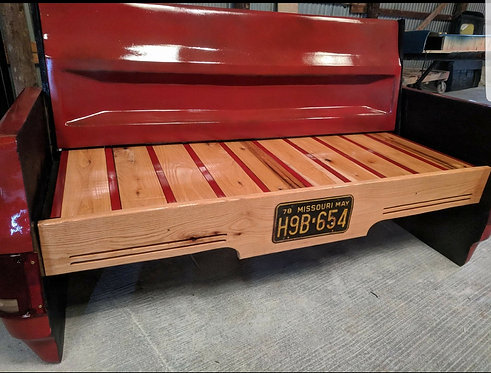 Chevy Square Body Bench