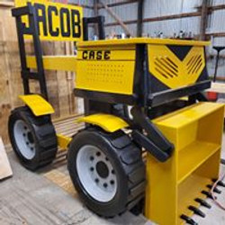 bulldozer bunk bed