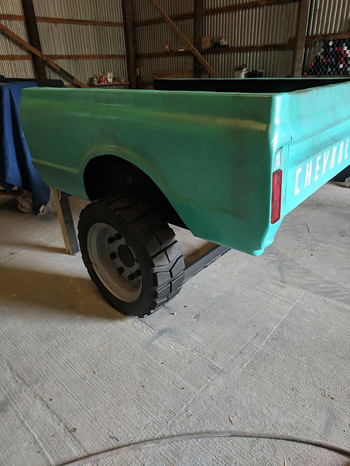 4wd truck bed