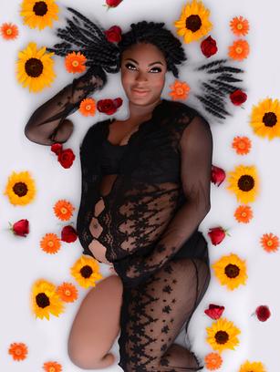 Black Lace Robe $10