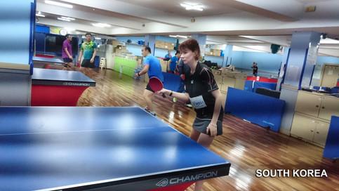 South Korea training camp