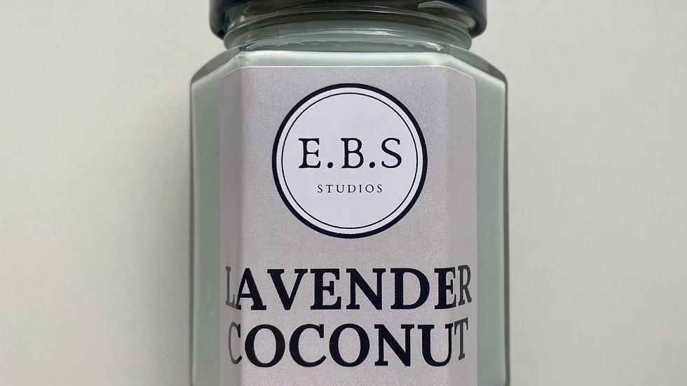 Lavendar Coconut Candle