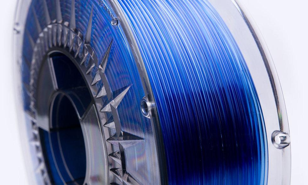 PETG Transparent BLUE 1kg - Printologist