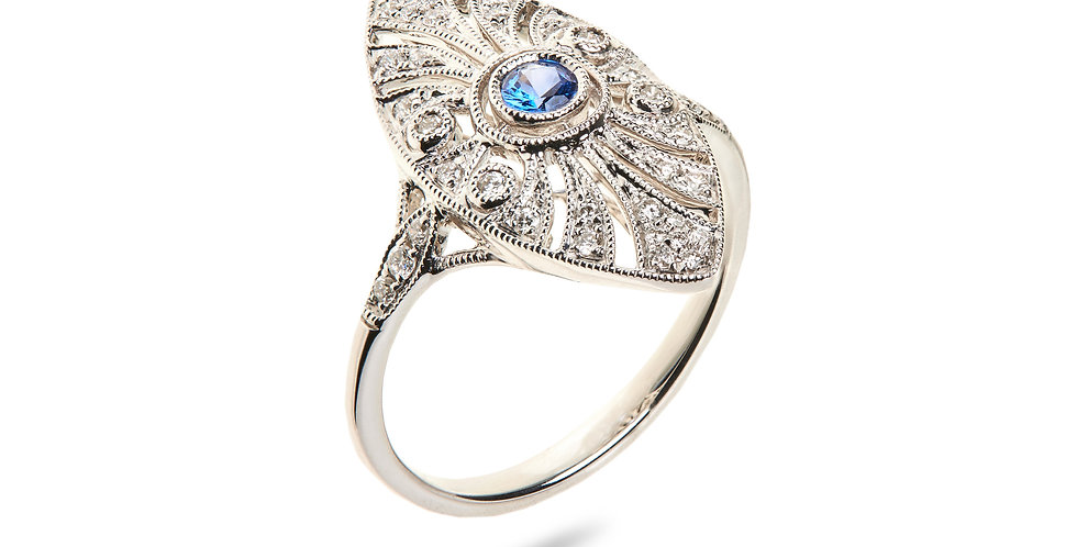 Girls Dreams Sapphire Ring