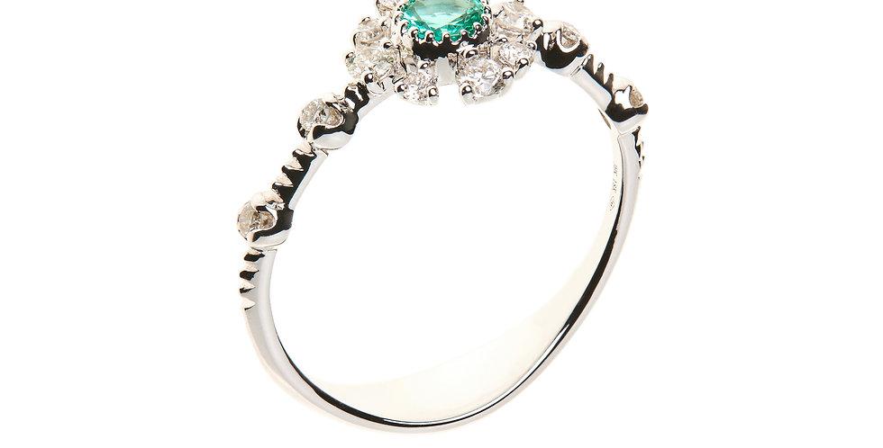 Girls Dreams Emerald Ring
