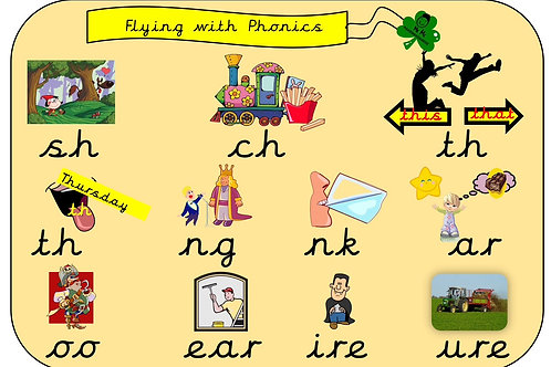 Flying with Phonics Phase 3 and 5 Pack