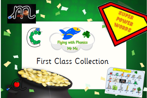 Flying with Phonics First Class Collection (Everything)