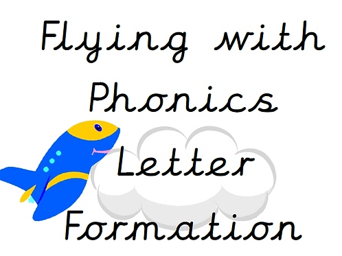 Flying With Phonics Handwriting Formation Pack (Cursive and Pre Cursive)