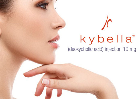 Using Kybella to treat unwanted chin fat permanently. Cold weather is the perfect time.
