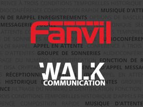 WALK devient partenaire Fanvil