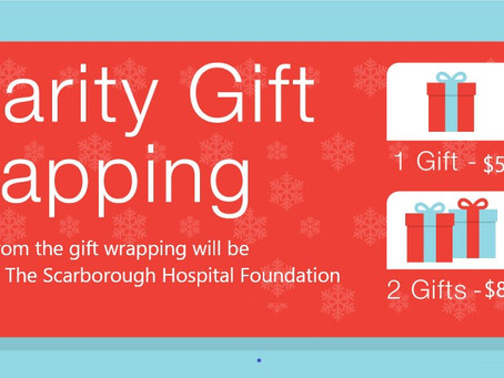 Charity Gift Wrapping
