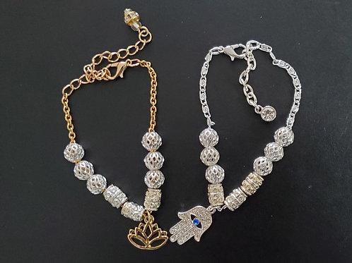S.O.S. Chain Morse Code Bracelets