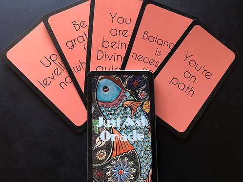 Just Ask Oracle - Tarot Size Deck