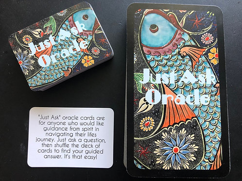 Just Ask Oracle 2 Pack - Tarot & Pocket Size