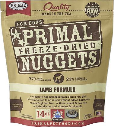 Primal Freeze-Dried Nuggets Lamb formula