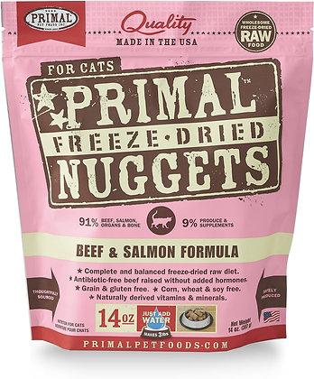 Primal Freeze-Dried Nuggets Beef & Salmon formula