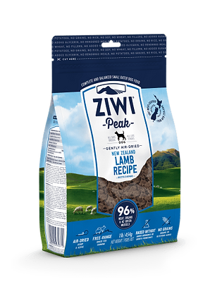 Ziwi peak Lamb recipe.