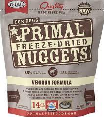 Primal Freeze-Dried Nuggets Venison formula