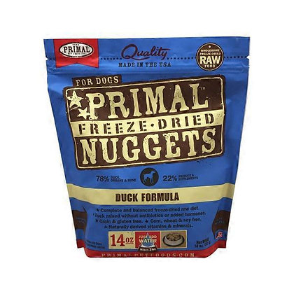 Primal Freeze-Dried Nuggets Duck formula
