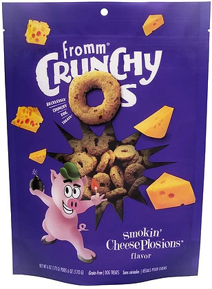 Fromm Crunchy Os Smokin' Cheese Plosions