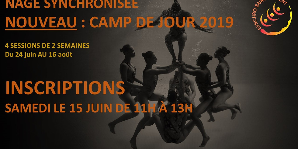 Inscriptions - Camps de jour 2019