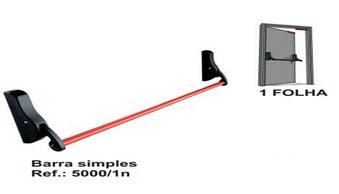 5000-1N: Barra Antipânico Simples 1 Folha NTA