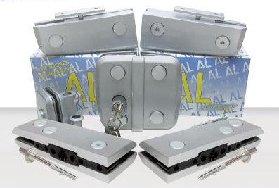 KIT-AL08: Kit Porta Dupla Pivotante AL