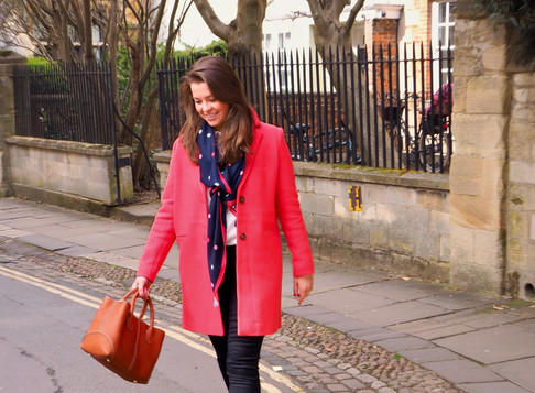 Spring Wardrobe With The Joules Walton Crombie Coat