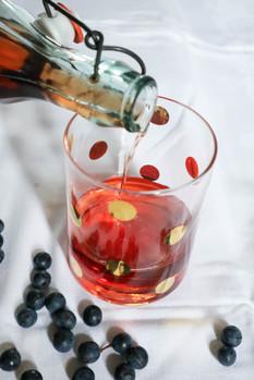 Homemade Sloe Gin