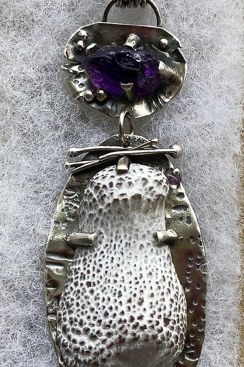 Oregon Snake Skin Agate Necklace