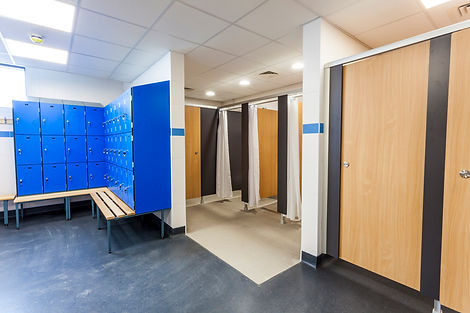 plumbing sports hall shower rooms