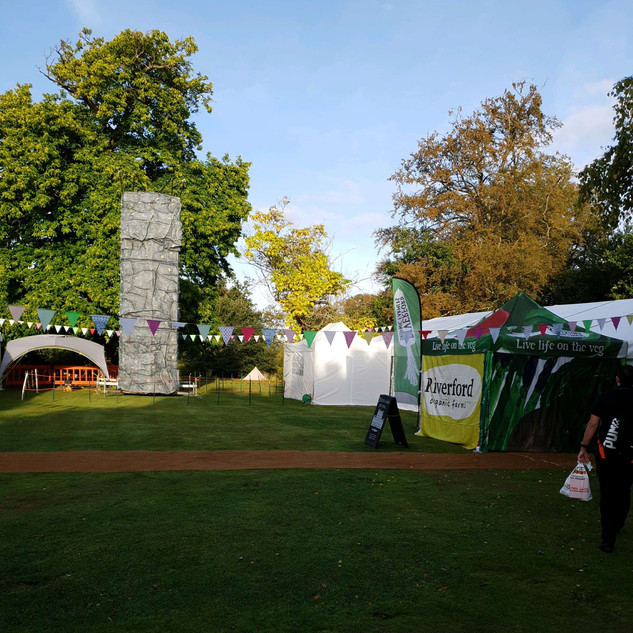 Thrive Festival Tonbride Kent - Temporary event power