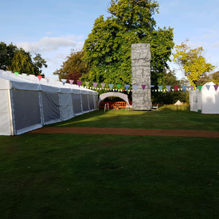 Supply and provision of temporary event power using 20KVA generator for food festival in Tonbridge Kent