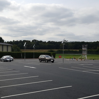 Installation of solar powered car park lighting to enable dusk to 10:30pm operation