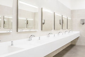 commercial plumbing toilets