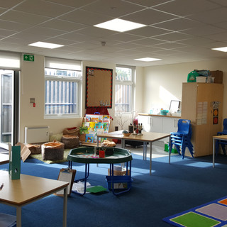 Complete new build of central section of school