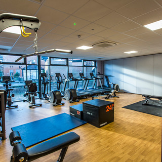 Design amd build for new multi function two storey 'Ball Hall' sports centre complete with cardio and aerobic studios and changing facilities