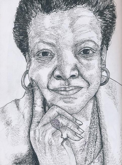 Maya Angelou-Poet and Activist