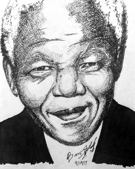Nelson Mandela-First African President of South Africa