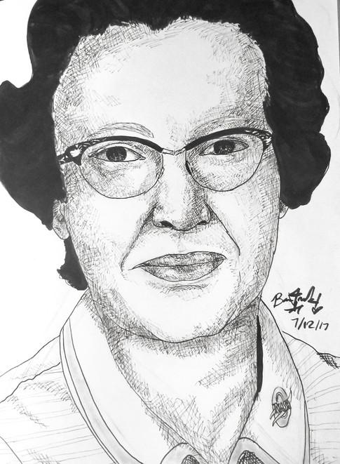 Katherine Johnson-Mathmatician at NASA