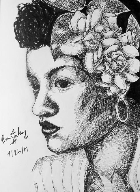 "Billie Holiday, ""Lady Day""-Legendary Jazz Singer"