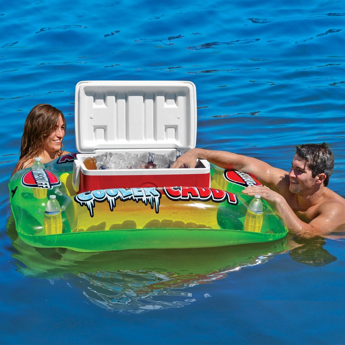 Floating Cooler Caddy